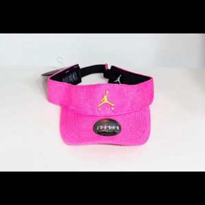 Air Jordan Poolside Visor (Hyper Pink/Cyber)